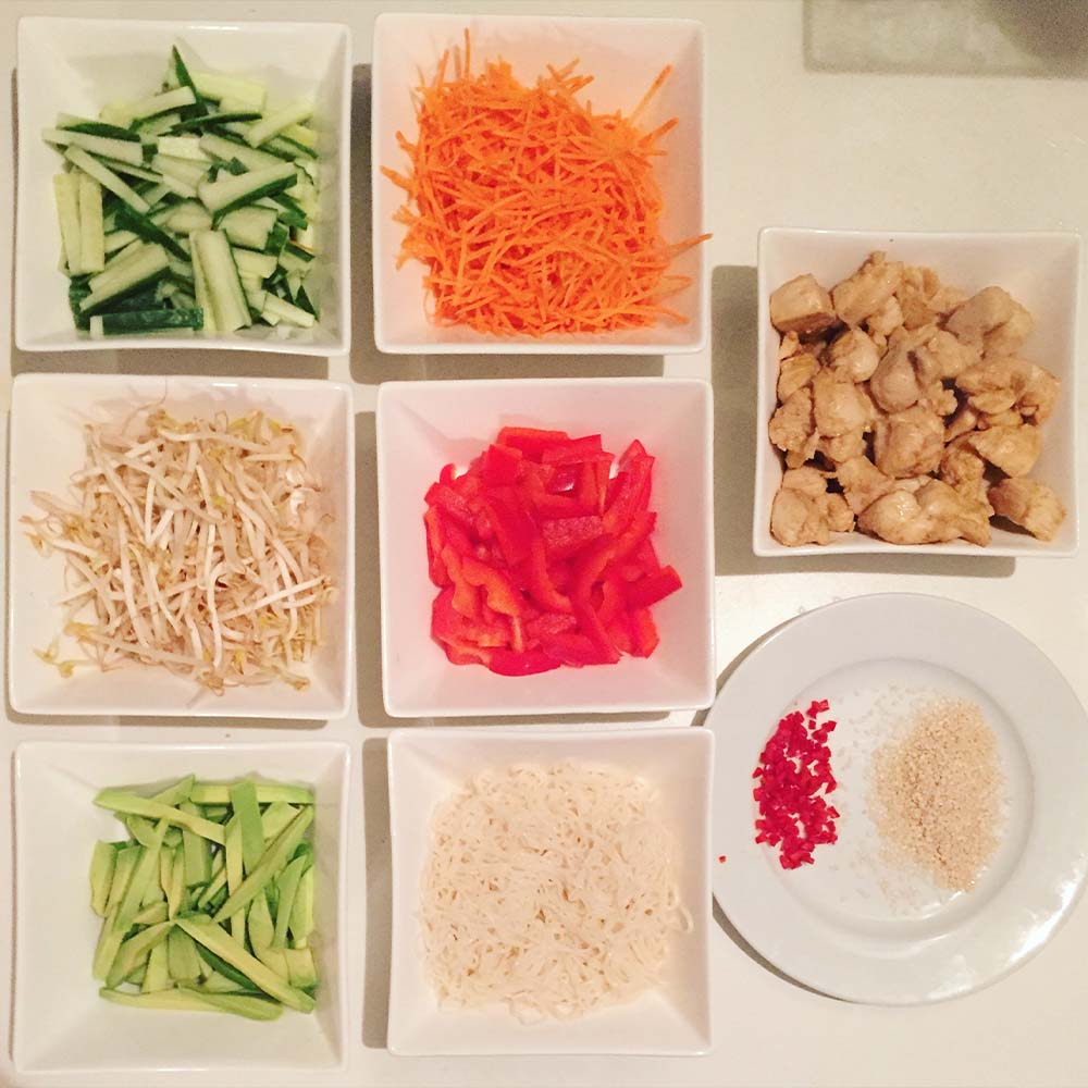 Chicken summer rolls zone food recipes ingredients forumfinder Image collections